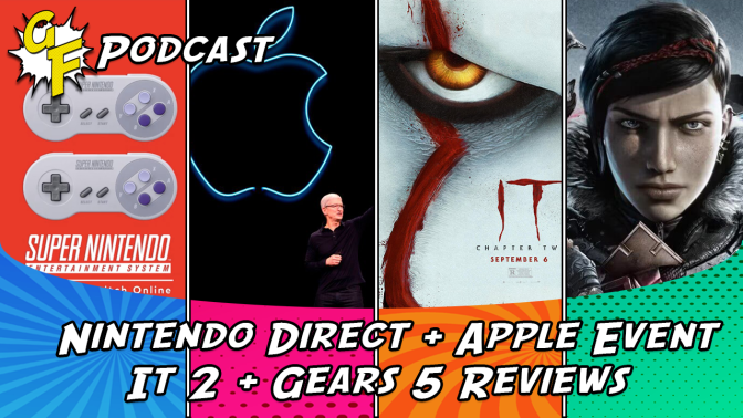 Nintendo Direct, Apple Event, It 2, Gears 5