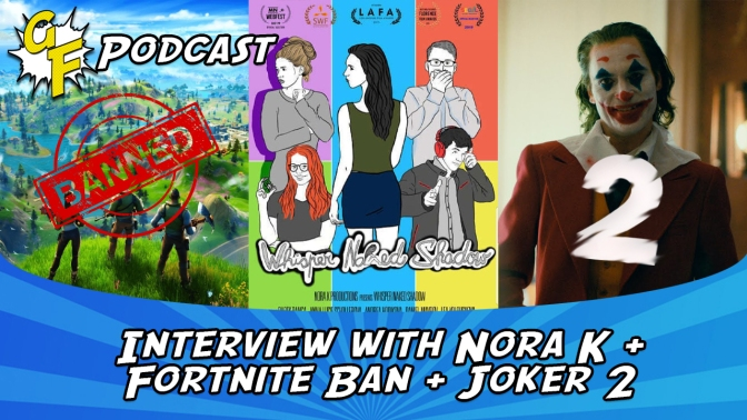 Interview with Nora K, Fortnite Ban, Joker 2