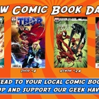 New Comic Book Day!