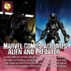 Marvel Comics Acquires Alien and Predator Franchises