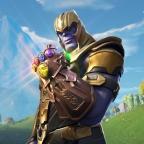 Thanos Returns to Fortnite Island